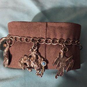 Jewelry - Silver tone charm bracelet